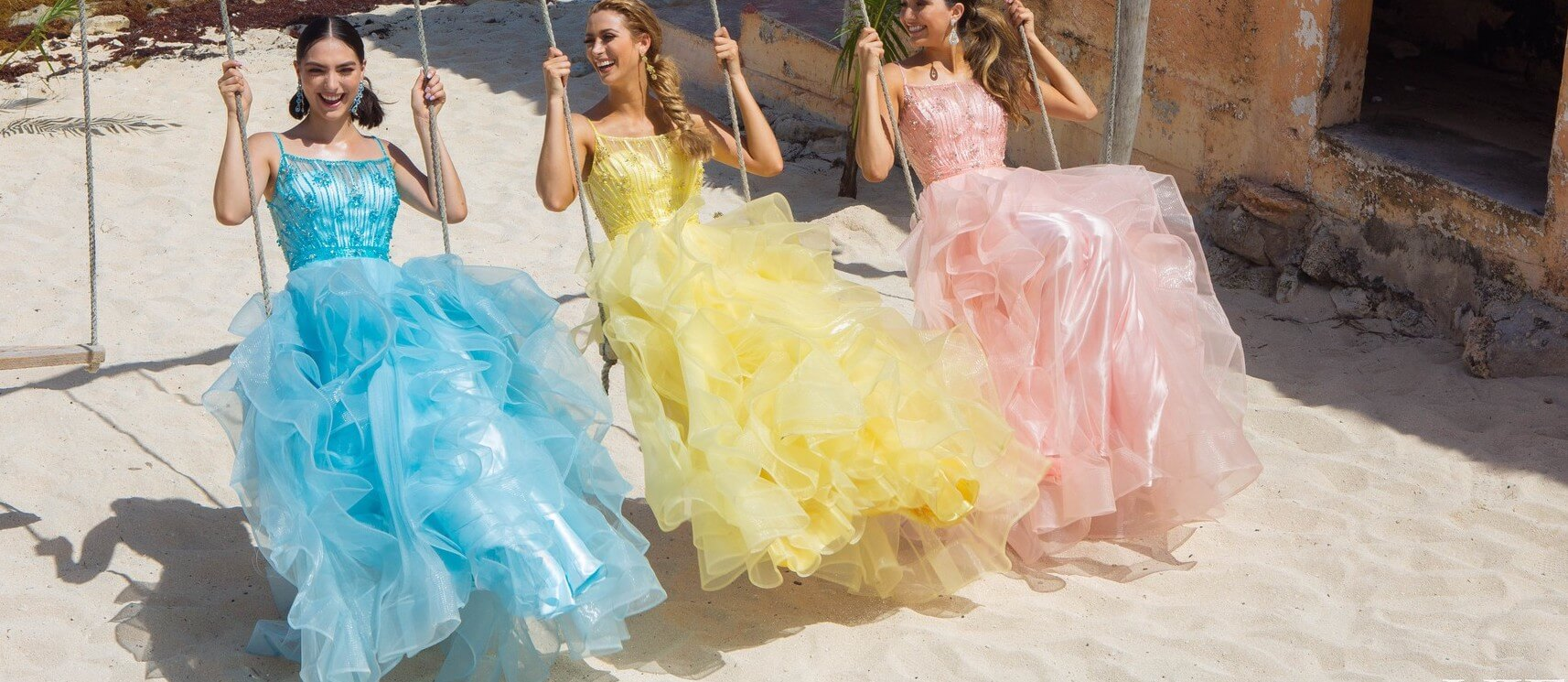 Shop Yellow Ball Gown Dresses Under $99 on Queenly